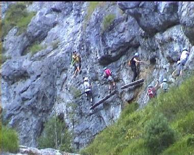 Klettersteig Hausbachfall : Viaferrata orionsoft cz hausbachfall klettersteig